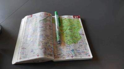 麻野一哉の塗った地図帳その2