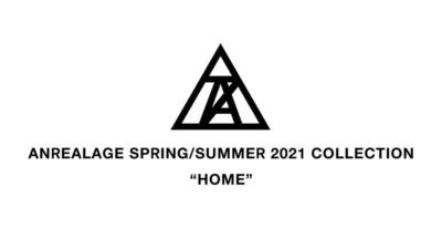 ANREALAGE 2021年春夏パリコレクションロゴ