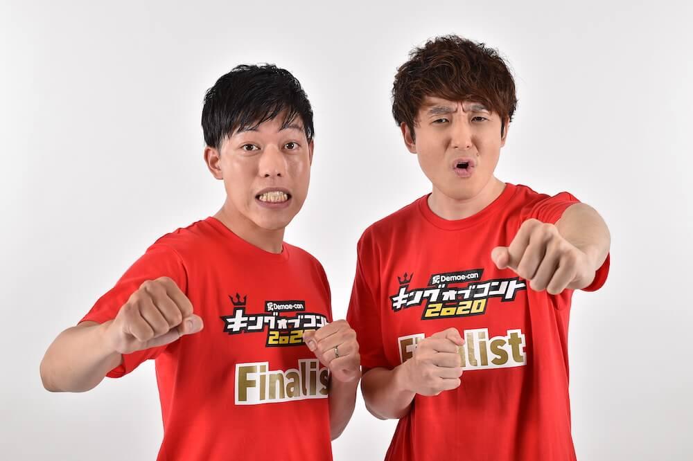「滝音」(左:さすけ/右:秋定遼太郎 吉本興業)