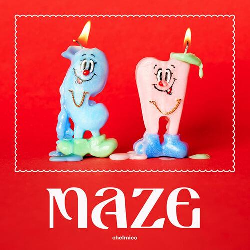 『maze』初回限定盤ジャケット