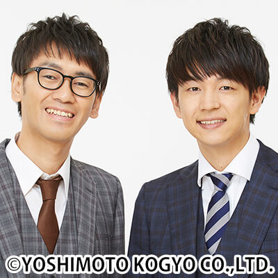 コマンダンテ。安田邦祐(左)と石井輝明のコンビ。2008年結成。GAGとは仲がよく、YouTube等でもたびたび互いのエピソードが披露される