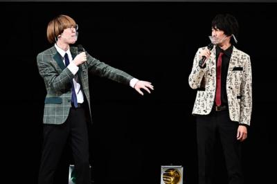 TBSラジオ『マイナビLaughter Night 真空ジェシカのラジオ父ちゃん』で活躍中の真空ジェシカ。ガク(左)、川北茂澄(右)