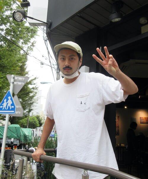 歩いていたら声をかけてくれた「まら」(高円寺チャンネルでも紹介)のマスター・高橋さん