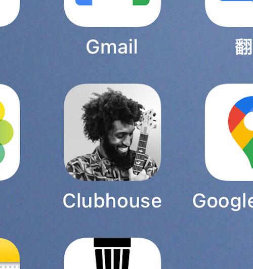 『Clubhouse』のアイコン