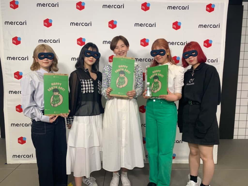 株式会社メルカリと共同で開催した、エコが学べる「Z世代と企業のサステナ提案」ワークショップのときの写真